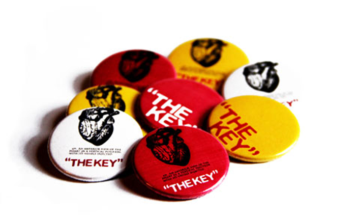THEKEY buttons
